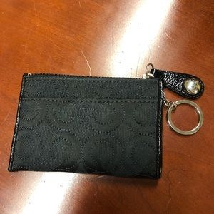 AUTHENTIC Black Coach Signature Wallet